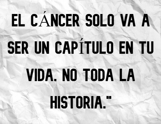 CANCER IS ONLY_Spanish
