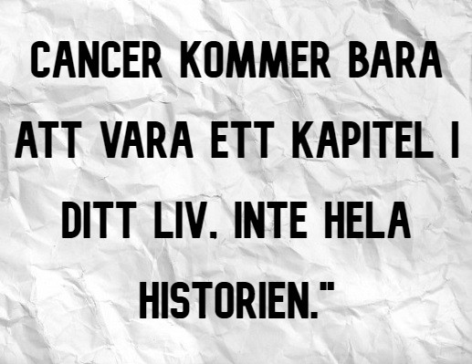 CANCER IS ONLY_Swedish
