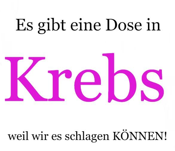 cancer _German